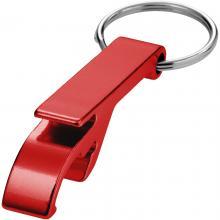 Sleutelhanger | Flesopener en blikjes opener | max171 Rood