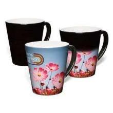 Latte WOW mok | Hitte gevoelige print