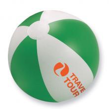 Strandbal met logo bedrukken | snel 23,5 cm