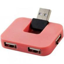 USB-hub voor vier poorten | USB 2.0 | Rechthoekig