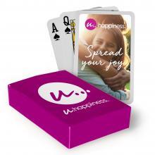 Speelkaarten   Bedrukking op doosje en kaarten   Snel