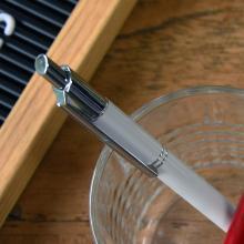Metalen pen | Gravering of full colour | Blauwschrijvend | max039