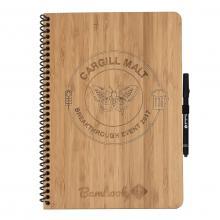 Bambook hardcover   A4   100% duurzaam   Graveren