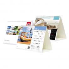 Staande kalender met spiraal full colour