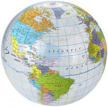 Strandbal | 25 cm | Wereldbol
