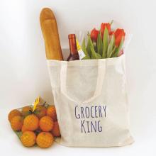 Katoenen tas met korte hengsels   Tot 4 kleuren bedrukking   Standaard kwaliteit   72201001