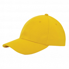 Cap | Zware kwaliteit | Borduring | 201926B Geel