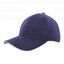 Cap | Zware kwaliteit | Borduring | 201926B Navy