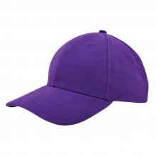Cap | Zware kwaliteit | Borduring | 201926B Paars