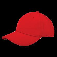 Cap | Zware kwaliteit | Borduring | 201926B Rood
