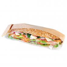 Sandwich verpakking | 38 x 5.5 x 9  cm | Doorzichtig venster