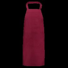 Schort | Halter | Met opbergzak | 205220 Bordeauxrood