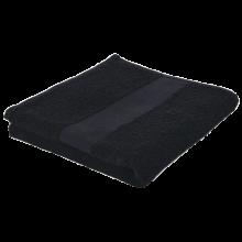 Badhanddoek   450 grams   100 x 50 cm   209120 Zwart