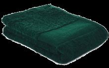 Fitness handdoek | 450 grams | 130 x 30 cm | 209190 Donkergroen