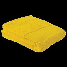 Fitness handdoek | 450 grams | 130 x 30 cm | 209190 Geel