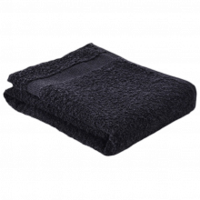 Fitness handdoek | 360 grams | 130 x 30 cm | 209390B Zwart