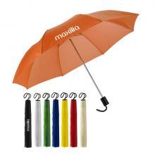 Parapluie pliable à l'intérieur du manche
