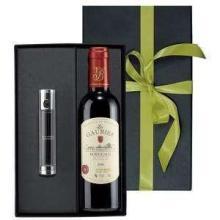 Weinpaket mit Luxuslampe