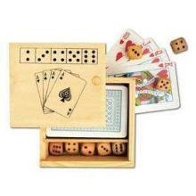 Speelkaarten + Dobbelspel | Bedrukking op doosje