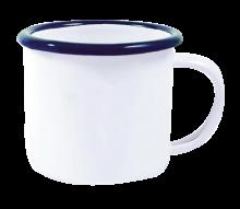 Emaille espresso Mok | 120 ml | 285349 Wit