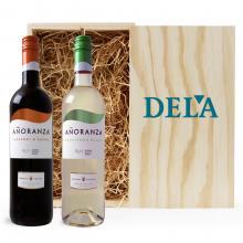 Rood & Wit| C. Sauvignon & Sauvignon Blanc | Met kist | Spanje
