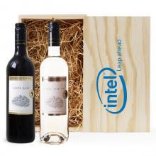 Rood & Wit | Pinotage & Chenin Blanc | Met kist | Zuid-Afrika