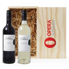 Rood & Wit | Shiraz & Chardonnay | Met kist | Argentinië