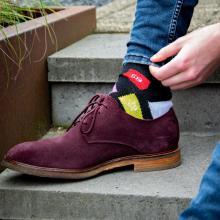 Sokken   Custom made   Met max. 4 kleuren   301235