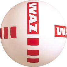 Voetbal kruis-opdruk 22 cm