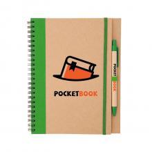 Ringband notitieboekje | Eco | Incl. pen | A5