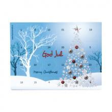 Adventkalender A5 tot in full colour bedrukt