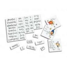 Wortspiele DIN A6 - 91 Wörter + Logo