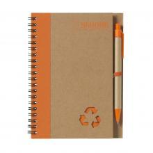 Notitieboekje   A5   Milieuvriendelijk   733642 Oranje