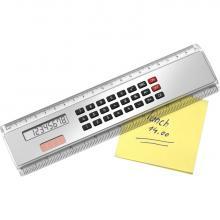 Liniaal | Met solar calculator | 20 cm