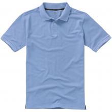 Polo's bedrukken | Heren | 200 grams katoen | Luxe | 9238080 Lichtblauw