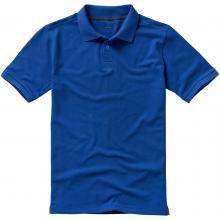 Polo's bedrukken | Heren | 200 grams katoen | Luxe | 9238080 Blauw