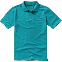 Polo's bedrukken | Heren | 200 grams katoen | Luxe | 9238080 Aqua blauw