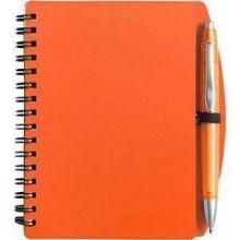 Notitieboekje PVC | A6 |  Met balpen | 8035139 Oranje