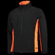 Soft Shell Jack | Bi-Color | Tricorp Workwear | 97TJ2000 Zwart / Oranje