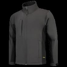 Soft Shell Jack | Bi-Color | Tricorp Workwear | 97TJ2000 Donkergrijs / Zwart