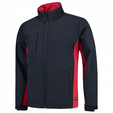 Soft Shell Jack | Bi-Color | Tricorp Workwear | 97TJ2000 Navy/Red