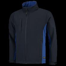 Soft Shell Jack | Bi-Color | Tricorp Workwear | 97TJ2000 Navy/Royal blue