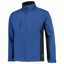 Soft Shell Jack | Bi-Color | Tricorp Workwear | 97TJ2000 Royal blue/Navy