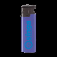 Elektronische aansteker | Tot 4 kleuren opdruk | Windproof | 72420422 Donkerblauw
