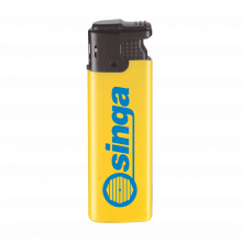 Elektronische aansteker | Tot 4 kleuren opdruk | Windproof | 72420422 Geel