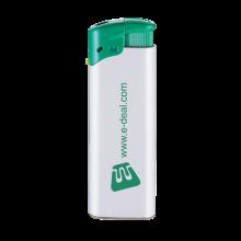 Elektronische aansteker | Beste prijs | Navulbaar | 72420435 Wit / Groen