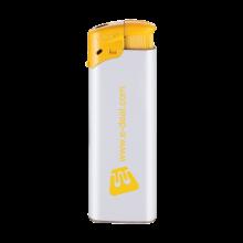 Elektronische aansteker | Beste prijs | Navulbaar | 72420435 Wit / Geel