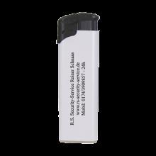 Elektronische aansteker | Beste prijs | Navulbaar | 72420435 Wit / Zwart
