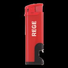 Elektronische aansteker   Flesopener   Navulbaar   72420632 Rood