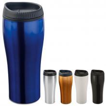 Travel Mug | Inox avec capuchon en plastique | 500ml